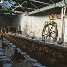 Simply one of the greatest most slap-you-round-the-chops amazing venues we have ever featured on Rock My Wedding. You must check it out now!