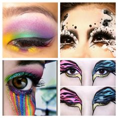 Eye makeup super cool
