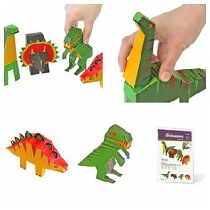 PUKACA - Dinosaurs Paper Toys