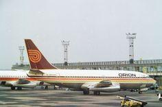 Boeing 737-2T5 G-BHVH Orion Airways, Manchester, July 1982.   Flickr - Photo Sharing!
