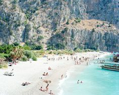 Butterfly Valley, 2008, Butterfly Valley, Turkey  photo © Massimo Vitali