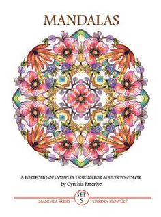 Did you Color as a child? An Adult Coloring Book might get you started again. Cynthia Emerlye Vermont Artist at EmerlyeArts.com has alternatives.