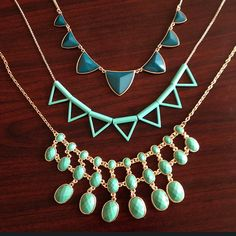 Statement Necklaces, The Perfect Accessory For Tee & Jeans Or Cocktail Dress