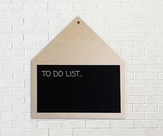 House chalkboard blackboard home decor chalkboard by PiecesDesigns