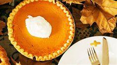 Crisp crust, great pumpkin pie