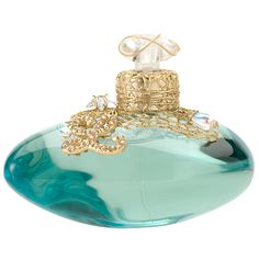 I have this perfume bottle - gold netting with jewels on top and a big 'L'