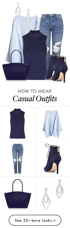 """Untitled #970"" by lchar on Polyvore featuring Topshop, Kate Spade, BCBGeneration and Alexis Bittar"
