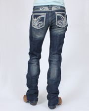 Rock 47 By Wrangler Ladies' Ultra Low Rise Vixen Jeans - www.fortwestern.com