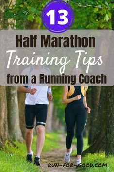 Get half marathon training tips from an experienced running coach to help runners of all levels feel more prepared and confident for their race. #halfmarathons #halfmarathontraining #runningtips Interval Running, Running Race, Marathon Running, Running Workouts, Running Tips, Running Training, Easy Workouts, Cardio, Running For Beginners