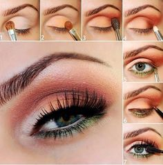 Maquillaje - Makeup - 17 Perfect Step by Step Makeup Tutorials for 2014 - Pretty Designs