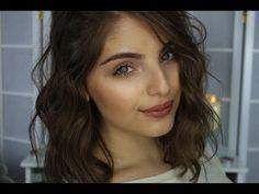 Everyday Makeup Look + Kylie Jenner Lips - YouTube (Heidi Hamoud)