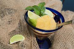 Sorbet z mango I limonek - Kuchnia pokoleń Sorbet, Mango, Ice Cream, Desserts, Food, Manga, No Churn Ice Cream, Tailgate Desserts, Deserts