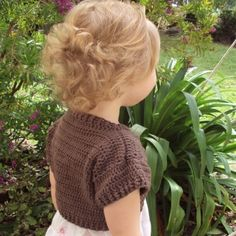 CROCHET PATTERN Shortie Sweater Baby to Adult by hollanddesigns