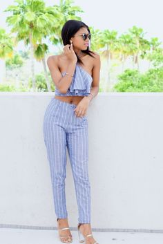 Tobi Striped Co-ord