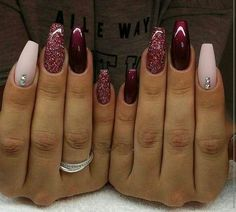 November Nail Designs Picture gorgeous nails for november december winter nails maroon November Nail Designs. Here is November Nail Designs Picture for you. November Nail Designs nail designs for sprint winter summer and fall holidays to. Maroon Nail Designs, Acrylic Nail Designs, Nail Art Designs, Nails Design, Cute Nails, Pretty Nails, My Nails, November Nails, Burgundy Nails