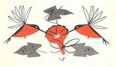 charley harper hummingbird