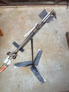 Multi-Purpose Tool Stand by bigern00 -- Here is a little tool stand I made with…