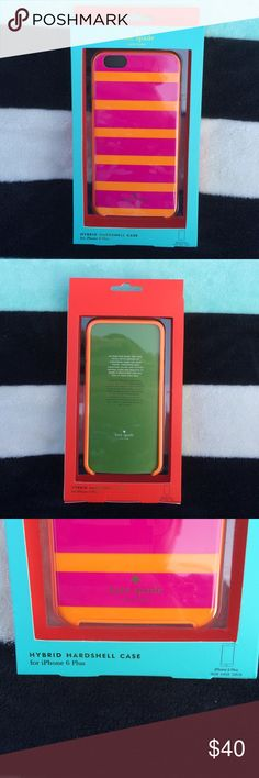 NIB KATE SPADE NY iphone6plus Case NEW IN BOX kate spade iPhone 6 Plus Hybrid Hardshell Case. Excellent condition. Never opened. Open to offers! Need to sell! Any questions?? Please ask. I ship same day! Trades on this item please. kate spade Accessories Phone Cases