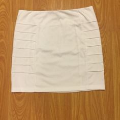 White Skirt  White | Edges have a design {pictured above} | Size Small | Worn Once / Used | No Stains Skirts