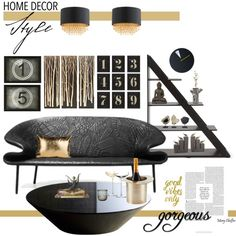 We love hanging out on Polyvore and spotting one of our products! Gorgeous home decor created by Mcheffer, featuring the Nima Oberoi Lunares Top Hat champagne bucket!