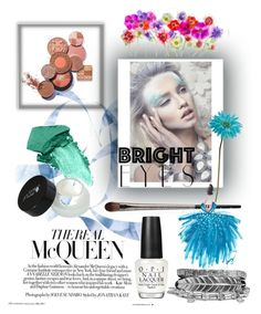 """""""Eyes"""" by mary-thor ❤ liked on Polyvore featuring beauty, NARS Cosmetics, OPI, Urban Decay, Boohoo, Allstate Floral and brighteyes"""