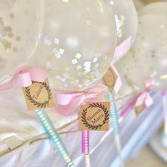 100均アイテムで簡単DIY♡【バルーンワンズ】が可愛すぎる♪ Wedding Decorations, Cake, Party, Manualidades, Kuchen, Wedding Decor, Parties, Torte, Cookies