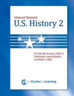 Advanced Placement U.S. History, Book 2 Lesson Plans #highschool #lessonplans #ap #advancedplacement #examville #12thgrade #10thgrade #11thgrade #teaching #teachingresources #ushistory