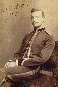 British Officer, India 1891