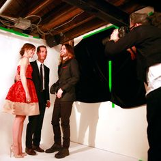 Behind-the-Scenes at InStyle's Portrait Studio - Jennifer Garner, Matthew McConaughey and Jared Leto from #InStyle