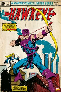 I love Hawkeye. Always have. Not a great cover ... but I love it nonetheless.