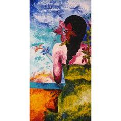 Donna esotica, tableau de Vivian BELMONTE