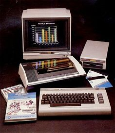 COMMODORE created home computing (Commodore 64 from 1982, the best ever selling personal computer worldwide