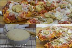L' impasto per pizza che non sa di lievito ha alcuni segreti semplici ed efficaci da rispettare affinche' non sappia di lievito! Provate la mia ricetta!