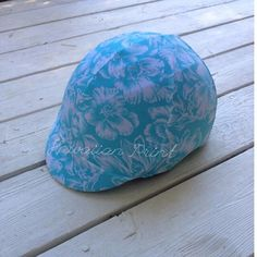Hawaiian Turquoise Safety Equine HELMET COVER, equestrian wear, stocking stuffer for horse back riders by TheStitchingHorse on Etsy https://www.etsy.com/listing/164814996/hawaiian-turquoise-safety-equine-helmet