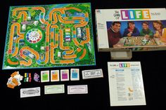 The Game of Life Board Game Milton Bradley 1991 COMPLETE #MiltonBradley