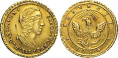 NumisBids: Numismatica Varesi s.a.s. Auction 65, Lot 528 : PALERMO - CARLO DI BORBONE (1734-1759) Oncia d'oro 1734. Sp. 1 ...