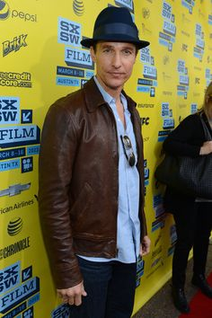 Matthew McConaughey stepped out for his Mud screening at #Paramount Theater, #Austin TX on Mar 10, 2013 #SXSW