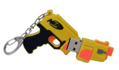 Amazon.com: Nerf 2 GB USB Flash Drive Gun - Yellow (16056): Computers & Accessories