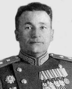Lieutenant-General of Tank Troops Sinenko Maxim Denisovich (Apr 27th, 1902 - Feb 10th, 1991) the Soviet military leader, a participant of the Great Patriotic war (WWII in Russia). He commanded the 54th Tank Division (part of the 28th Mechanized Corps, 1941), the 3rd Tank Corps (1942-1943), the 5th Guards Tank Army (March 1945).