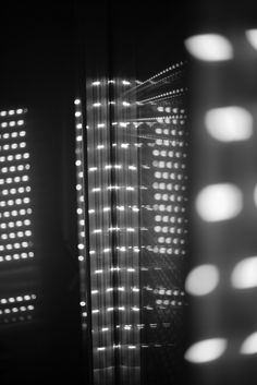 Dotted light #photography #blackandwhite #darkness #crossover #dot #window #transparency #fingerprints #inner #reflectio...