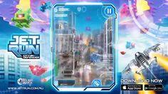 ◆Jet Run: City Defender [Wicked Witch][2014-10-29]◆3-lane runner の gameplay を上下に拡張。