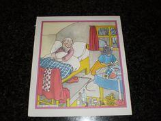 Vintage children's book illustration   gnome door pureplusproducts, $10,00