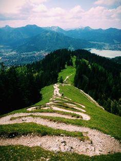 Baumgartenschneid Peak above Tegernsee #deutschland #bayern