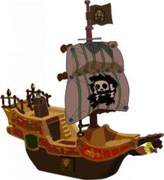 Pirates boat.