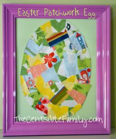 Easter Patchwork Egg Project