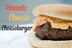 Pimento Cheese Burger #15MinuteSuppers