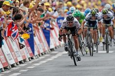 Cavendish blasted past the breakaway remnants just like the missile in his nickname Cycling News, Pro Cycling, Mark Cavendish, Stage, Manx, Olympic Games, Olympics, Photo Galleries, Bicycle