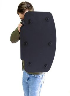 Best ballistic shield for rifle protection. Weapons Guns, Airsoft Guns, Guns And Ammo, Zombie Weapons, Police Gear, Military Gear, Military Police, Military Weapons, Tactical Armor