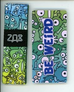 ZOX Silver Strap UP TO ME Wristband with Card Reversible
