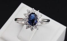 Blue Gem Sapphire Crystal Ring - J20Style - 1